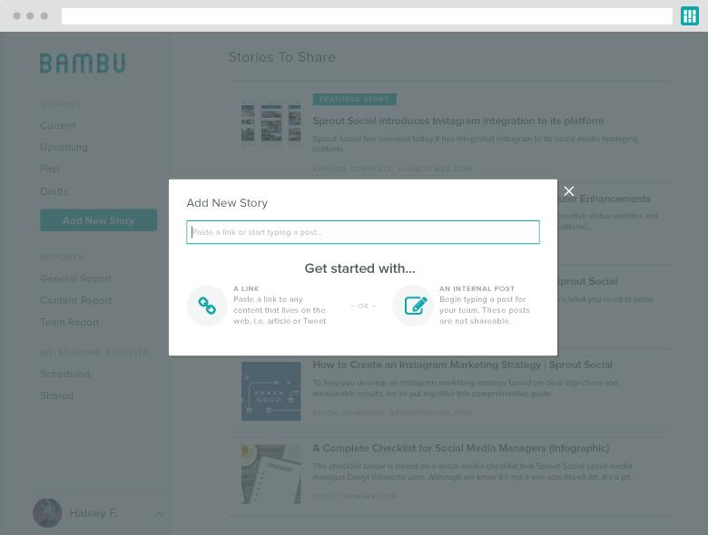 bambu original stories product update screenshot